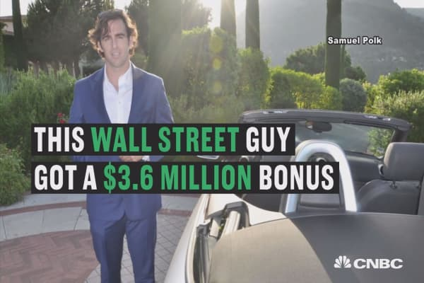 This Wall Street trader got mad about a $3.6M bonus — and quit
