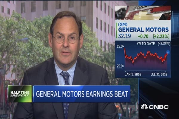 General Motors 39 Earnings Beat