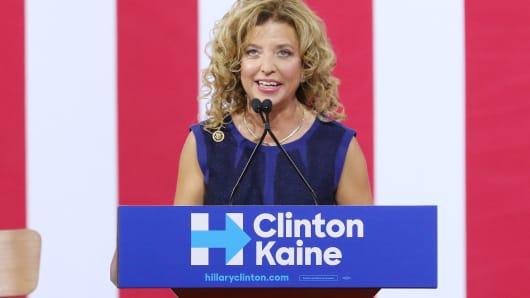 Debbie Wasserman Schultz has resigned (effective next week)