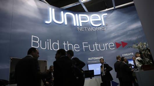 Active Volume Stock: Juniper Networks, Inc. (NYSE:JNPR)