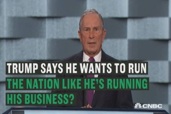 Michael Bloomberg: I know a con when I see one