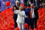 Hillary Clinton DNC balloons