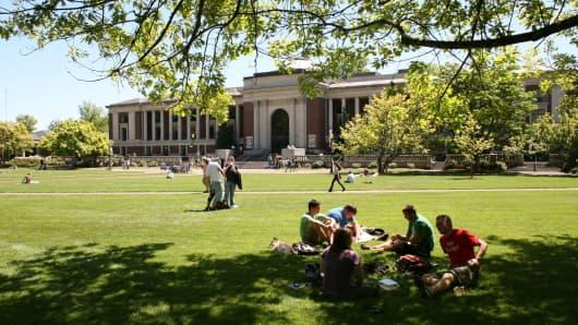 Oregon State University Beavers campus in Corvallis, Oregon