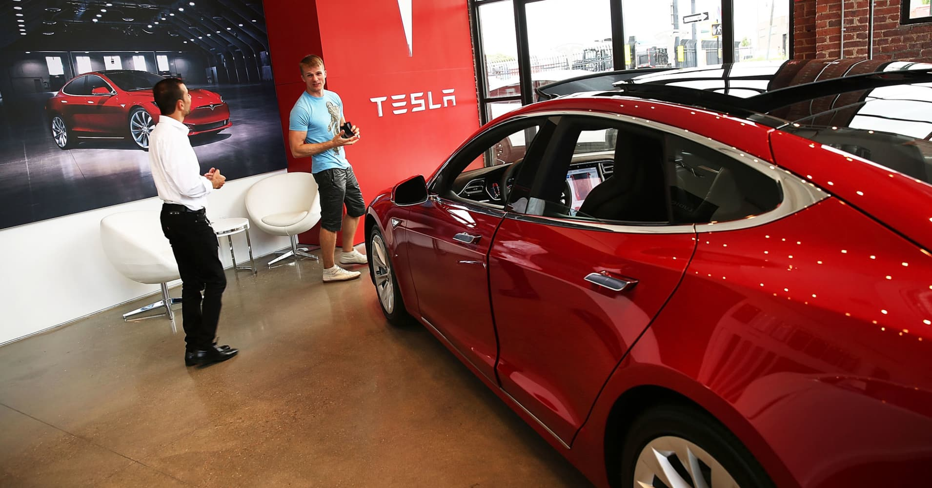 Sell Tesla because Model 3 sales will disappoint next year, Goldman Sachs says