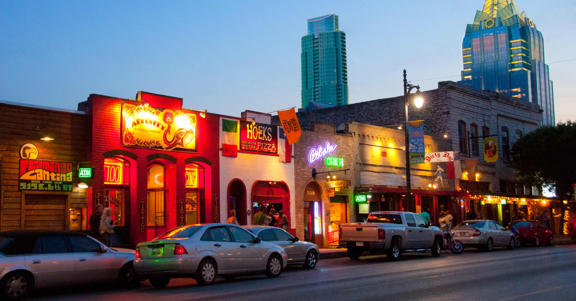 Austin Is Top Place For Startups In America Not Silicon Valley