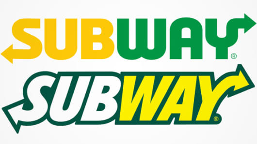 after 15 years subway has a brand new logo