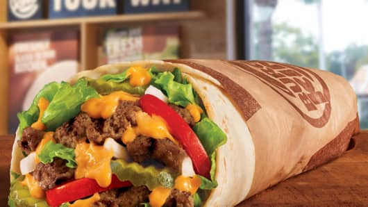 Burger King's Whopper burrito is coming soon