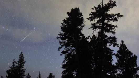 Watch the Perseid Meteor Shower tonight