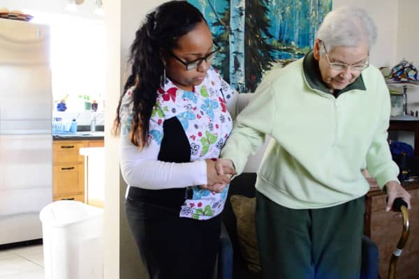 Honor connects older adults with caregivers using its app-based technology.