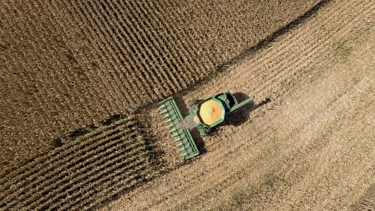 US Corn Condition Slips - Soybeans, Spring Wheat Holding