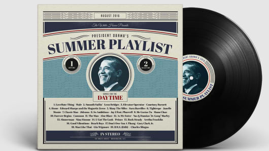Summer playlist daytime White House