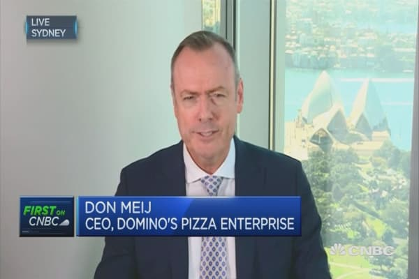 Domino's CEO Don Meij says will continue tech investments ...