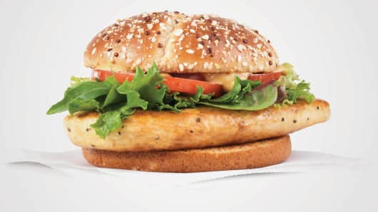 Wendy's Grilled Chicken Sandwich