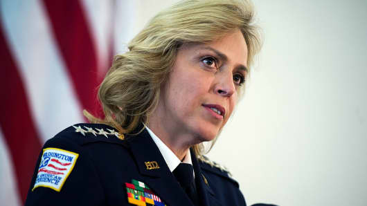 DC Police Chief Cathy Lanier to Step Down, Head NFL Security