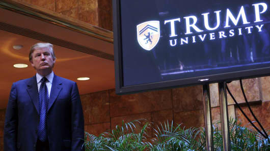 Trump settles $25m in university lawsuits