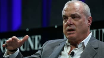 Aetna chairman and CEO Mark Bertolini speaks during the Fortune Global Forum on November 3, 2015 in San Francisco, California.