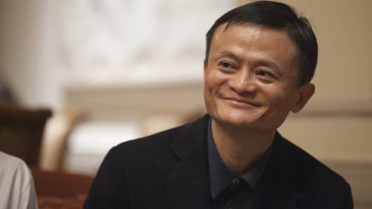 Alibaba revenue surges 60% in 4th fiscal quarter