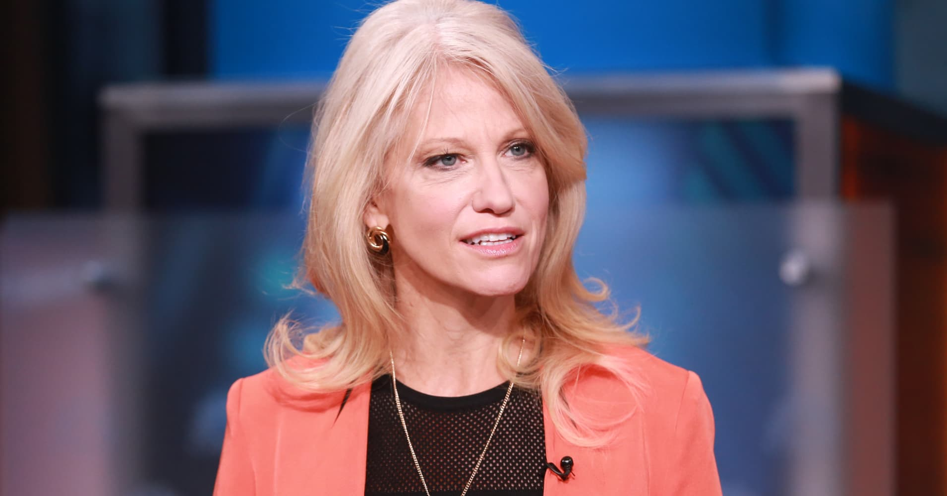 Kellyanne Conway, Donald Trump's campaign manager.
