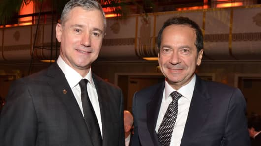 Ron Losby, CEO of Steinway & Sons and company's owner, John Paulson