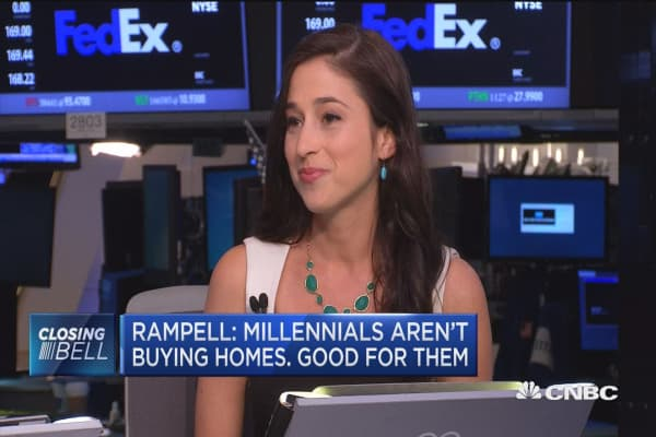 Rampell: Millennials aren't buying homes, good for them