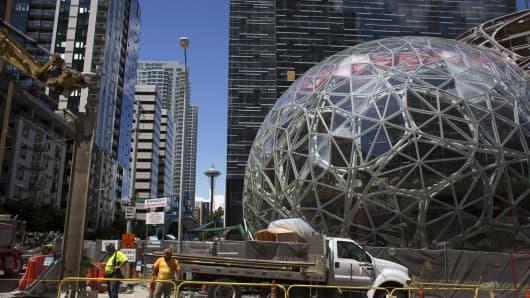 Amazon.com Biosphere in Seattle.