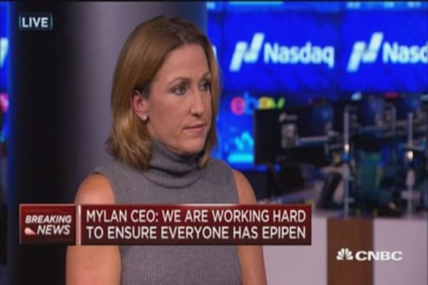 Mylan CEO: full interview