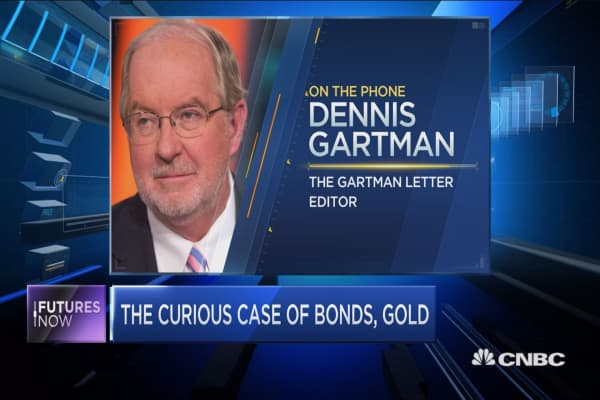 The curious case of gold and bonds