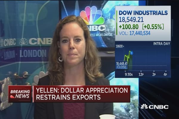 Greene: 'Most dovish, hawkish speech' from Yellen
