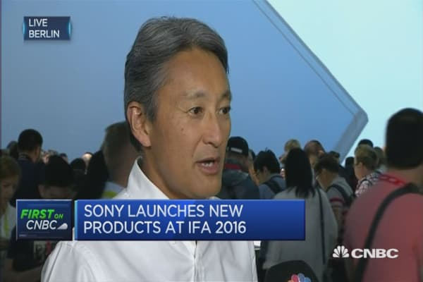 Sony CEO: Not going to skimp on innovation