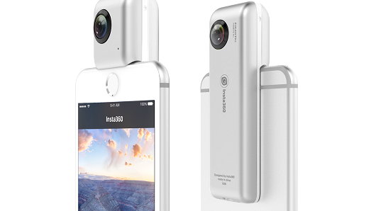 Shenzhen Arashi Vision Co's Insta360 Nano cameras.