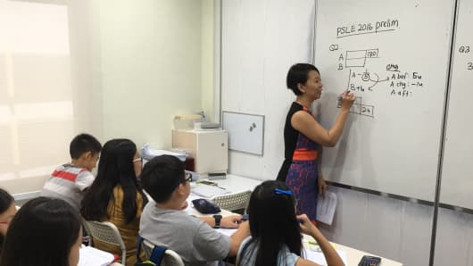 Singapore\'s super tutors can make $1 million a year amid clamor for top grades