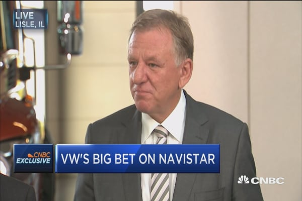 Navistar CEO: This is an alliance with VW