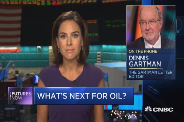 Oil will go back to $50: Gartman