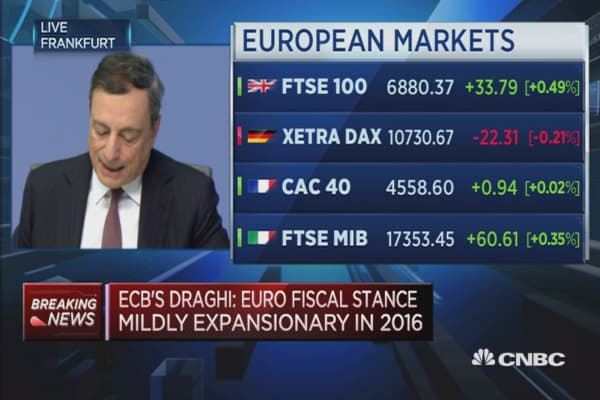 Inflation are likely to remain low: ECB's Draghi