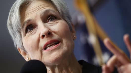 Green Party presidential nominee Jill Stein