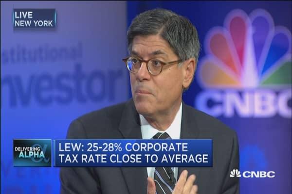 Jack Lew: Tax reform must be revenue neutral