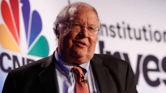 Bill Miller speaking at CNBC/Institutional Investor's Delivering Alpha conference in New York on Sept. 13, 2016