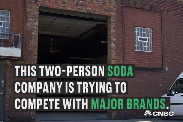 Can hand-crafted soda compete with Coke and Pepsi?