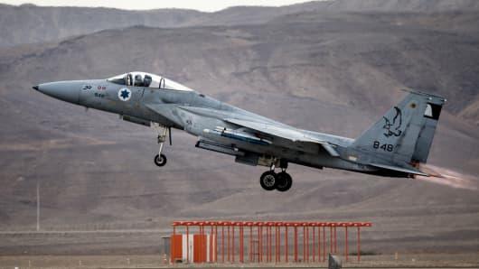 An IDF jet fighter