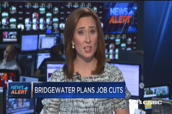 Bridgewater plans job cuts