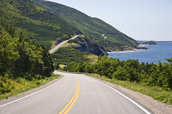Cabot Trail at Cap Rouge, Cape Breton