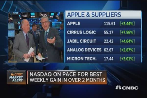 Pisani: This is an Apple-led rally