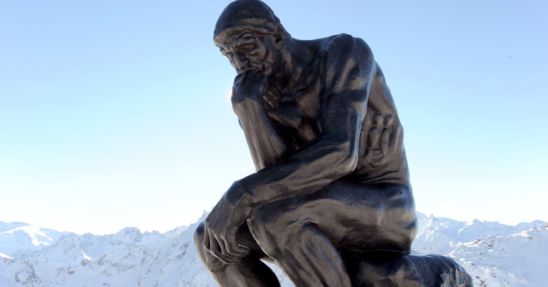 The Thinker Statue Rodin