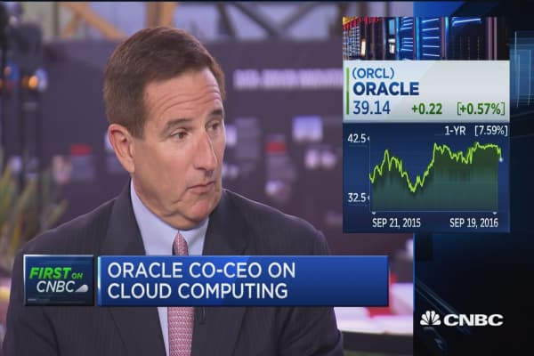 Oracle's Hurd: Growth strategy, artificial intelligence, & more