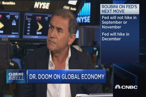 Roubini: Central banks are running out of bullets