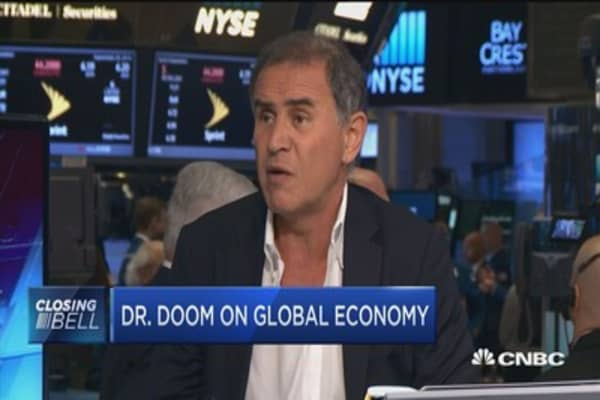 Roubini: Don't see a bubble, see frothiness