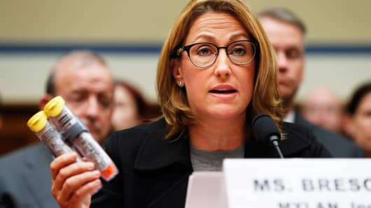 CEO of company that makes the Epipen Faces Congressional Committee