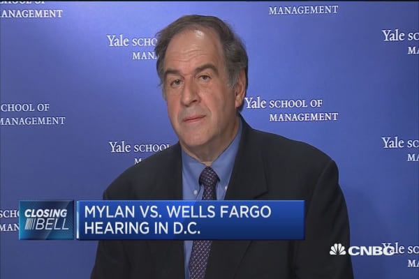 Mylan vs. Wells Fargo hearings in D.C.