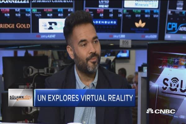 UN explores virtual reality