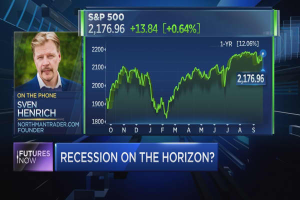 Here's why a recession could be on the horizon: Trader